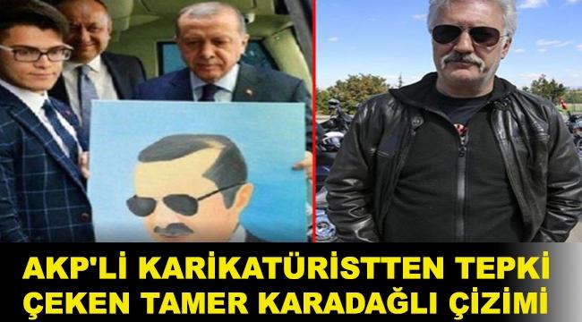 AKP'li karikatüristten tepki çeken Tamer Karadağlı çizimi